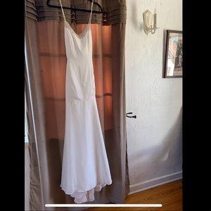 Eden Bridal silky Wedding Dress